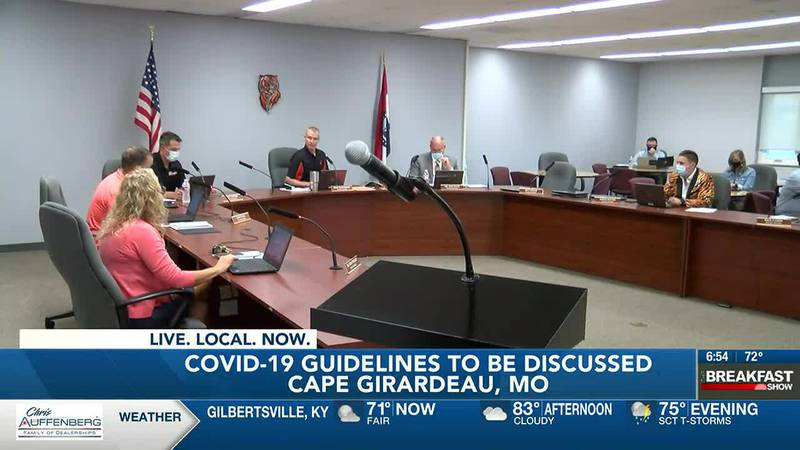 COVID-19 guidelines to be discussed at Cape Girardeau School Board meeting