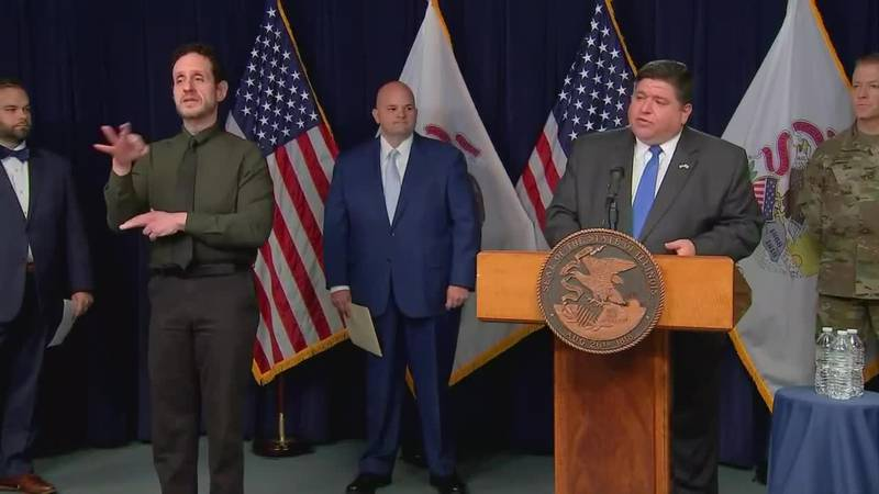 IL Gov. Pritzker announces partnership with manufacturing, biotech industries