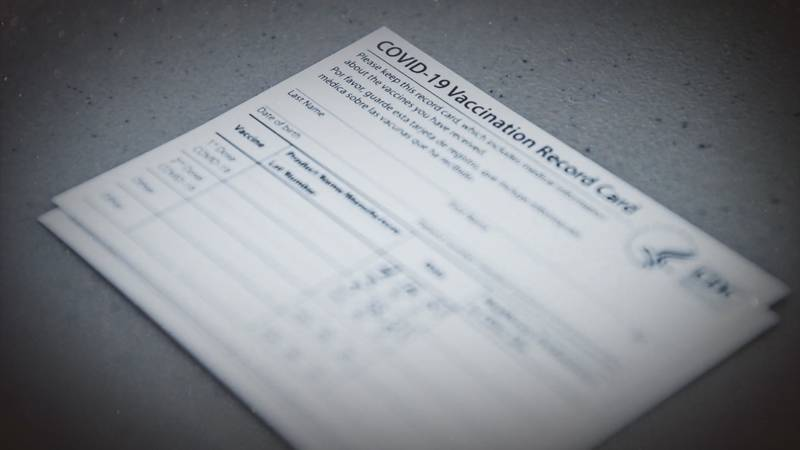 Fake COVID-19 vaccine cards are on the rise.