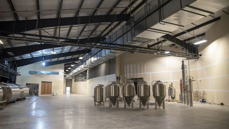 The SIU Foundation donated a $1.1 million grant to the Fermentation Science Institute, located...
