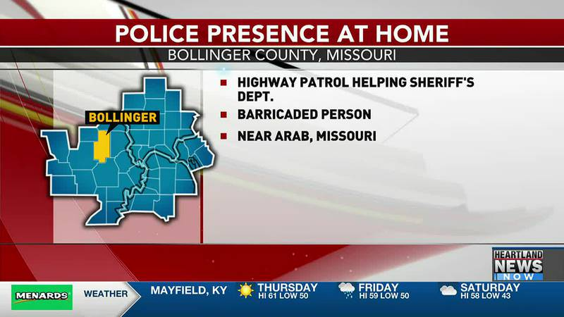 The Missouri State Highway Patrol is helping the Bollinger County Sheriff's Department with a...