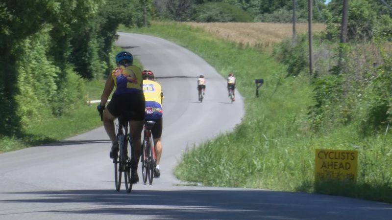 Cyclists from around the nation are making their way through southeast Missouri for Big BAM 2021.