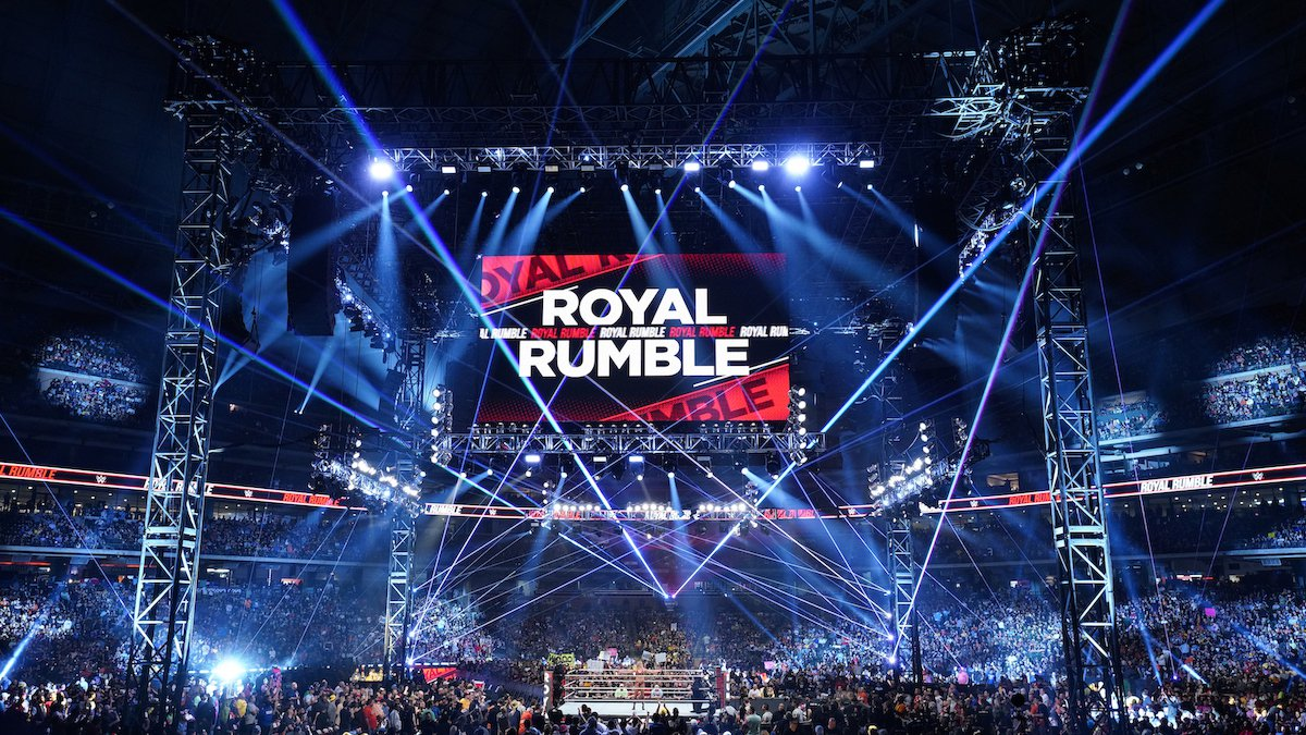 WWE announced the 'Royal Rumble' will take place at The Dome at America's Center in St. Louis...