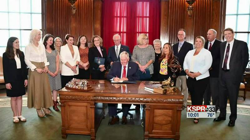 SB71 bill signing
