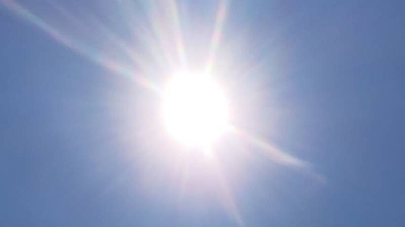 The American Red Cross urged people to take precautions against the heat.