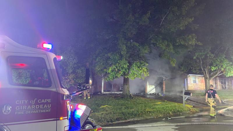 Initially, firefighters were called at 4:42 a.m. to a garage fire at 50 Centennial Drive.  When...
