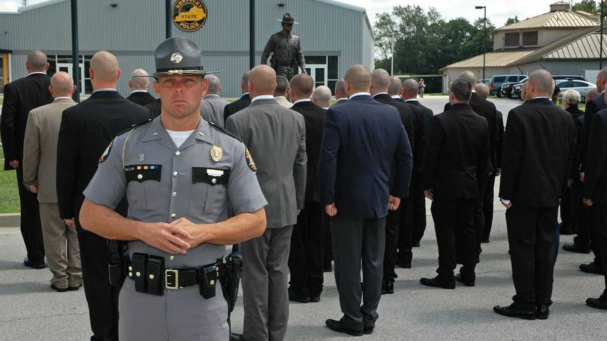 61 recruits are attending the Kentucky State Police Academy. (Source: KSP)