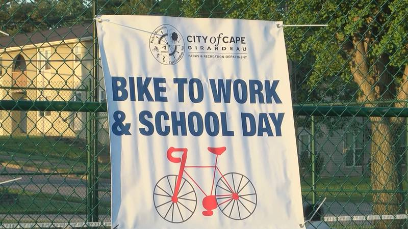 Bike to work and school day event in Cape Girardeau
