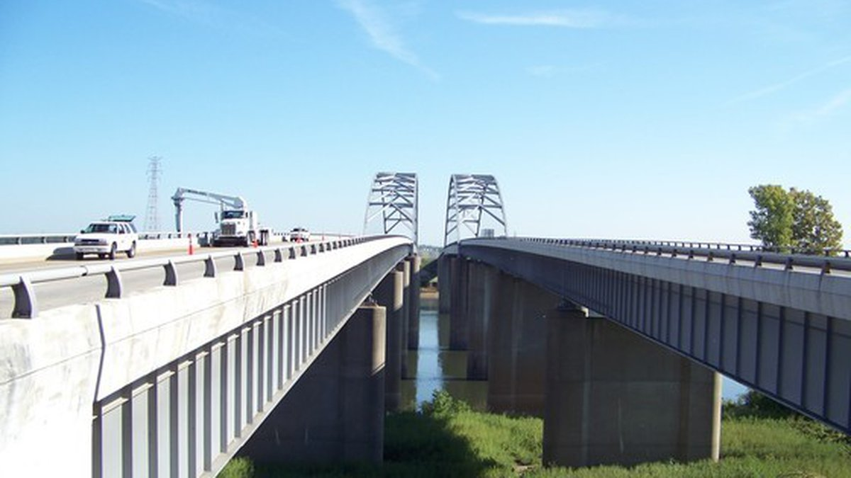 An inspection of the I-24 Tennessee River Bridge was completed on Tuesday, July 20.