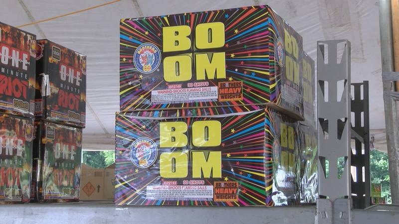 The Fourth of July is still more than a week away, but fireworks will go on sale this weekend...