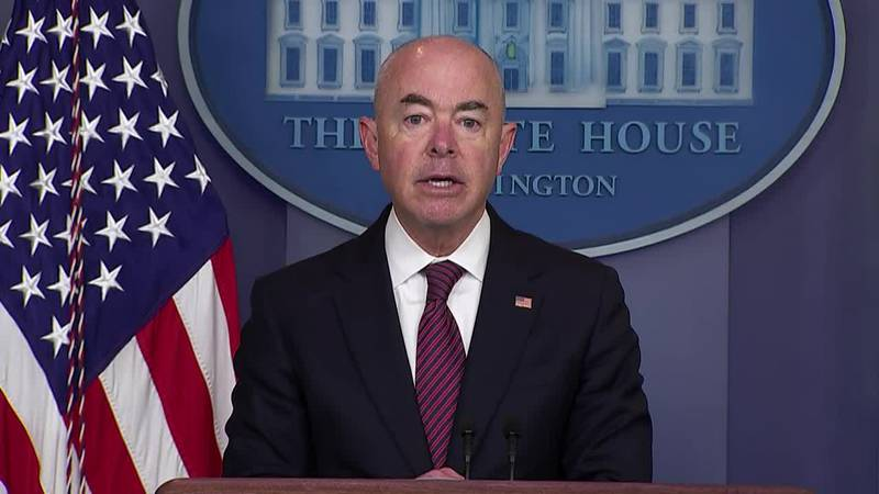 Homeland Security Secretary Alejandro Mayorkas called again on Monday for Congress to act...