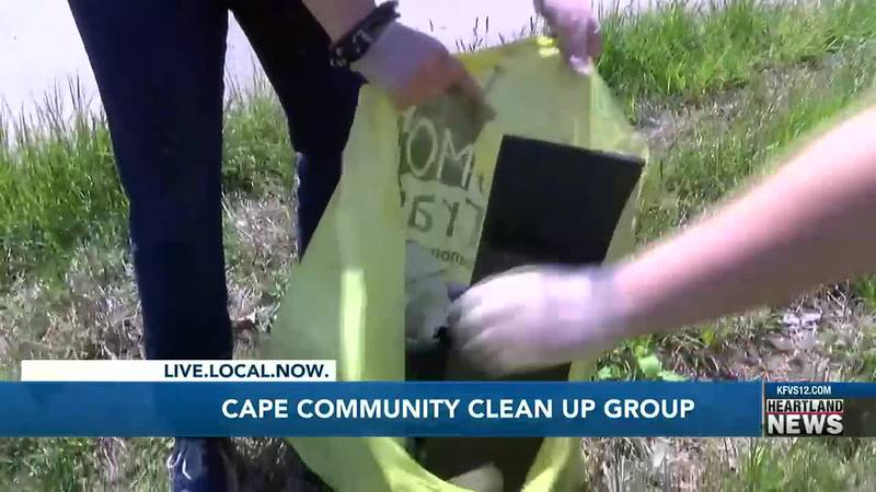 Cleaning up Cape Girardeau....one person at a time.