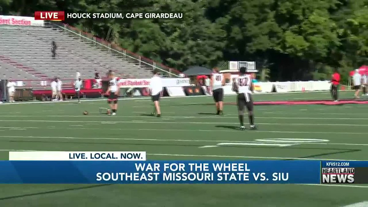 """SEMO takes on SIU in the """"War for the Wheel."""""""