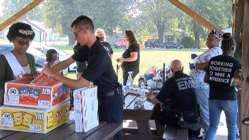 The event had plenty of food, a pageant for the kids, bouncy houses, Butler County Health...
