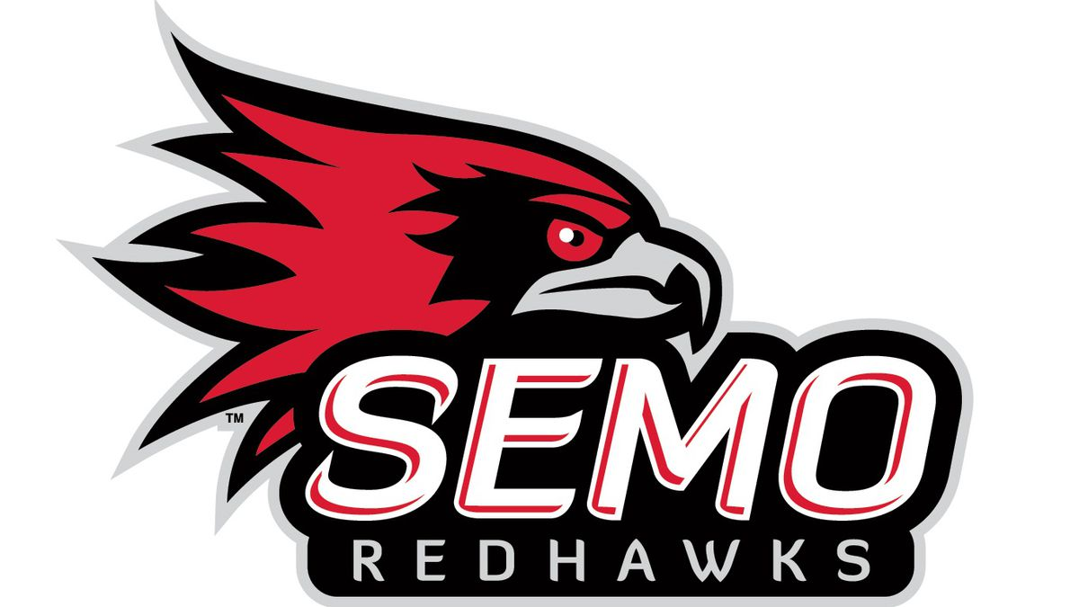 The new Redhawks redesign uses 'SEMO' as the preferred reference for Southeast Missouri State...