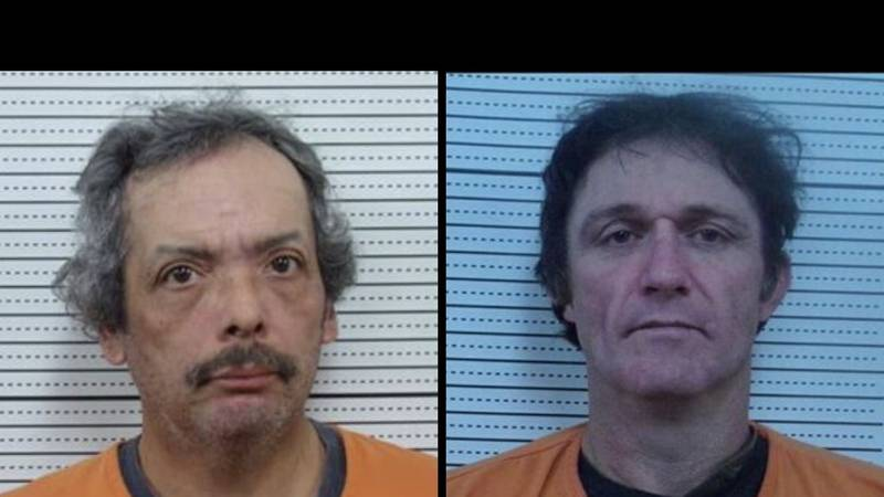 Ronnie Sauceda (left) and Jeffery Sisco (right) are facing burglary and stealing charges....