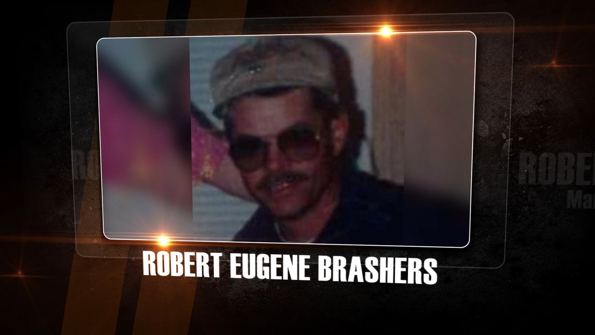 Robert Eugene Brashers is the man investigators say killed Megan and Sherri Scherer in their...