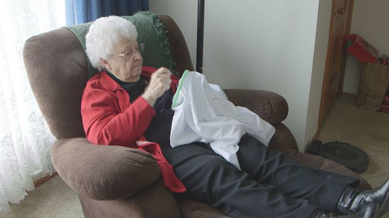 89-year-old Wilma VanGennip of Leopold is fully recovered from COVID-19. She credits a new...