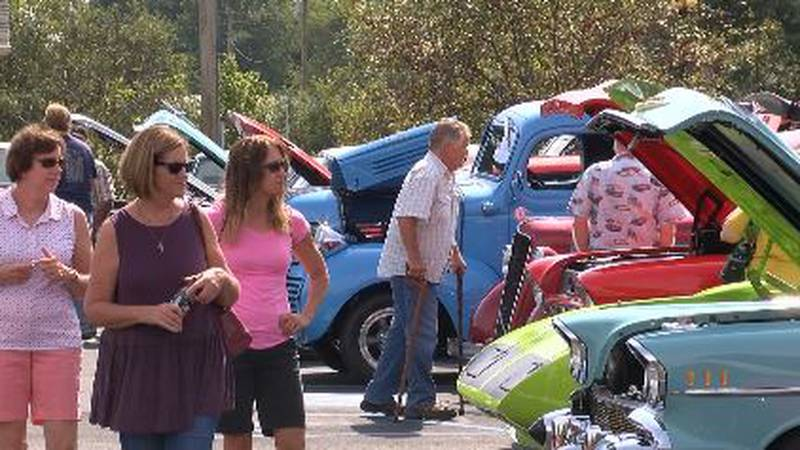 The event starts in Marquand at 8 a.m. and goes until 6 p.m. on Saturday.