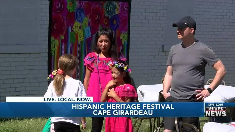 A Hispanic Heritage Festival was held in Cape Girardeau on Saturday.