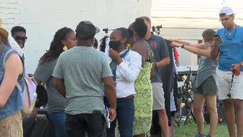 People enjoyed the 1st annual Juneteenth celebration in Cape Girardeau, Mo. hosted by One City.