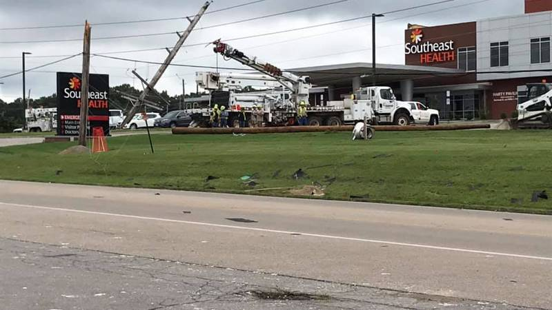 The Southeast Health of Stoddard County hospital sustained moderate damage from Saturday...