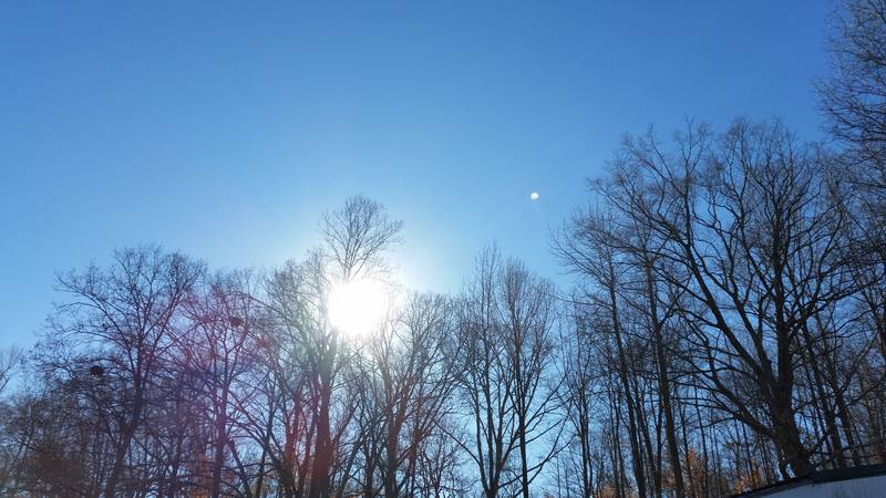 A beautiful and sunny morning near Olive Branch, Illinois. (Source: William Foeste/Cnews)