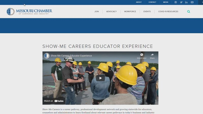 The Cape Girardeau Chamber of Commerce will be hosting the Show Me Careers Educator Experience...