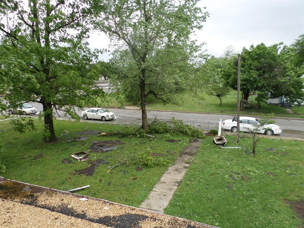 This week's round of storms caused thousands of dollars of damage inside and out. (Paul Bell,...