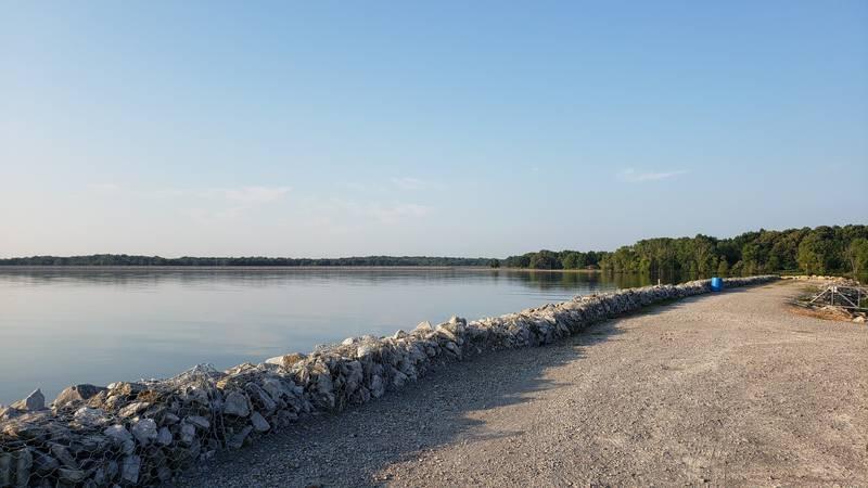 A beautiful day at Rend Lake near the marina.  (Source: KFVS/Jordin Wyatt)