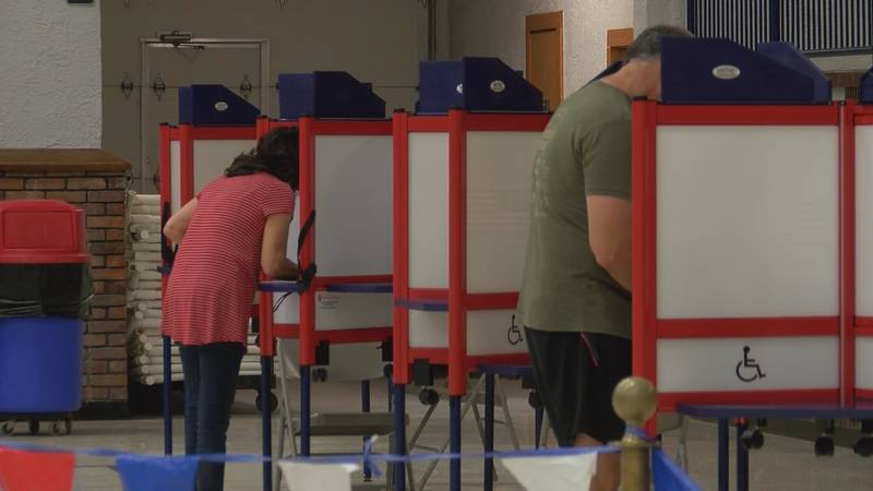 Polls open for voting at 6 a.m. on Tuesday, August 4, and close at 7 p.m.