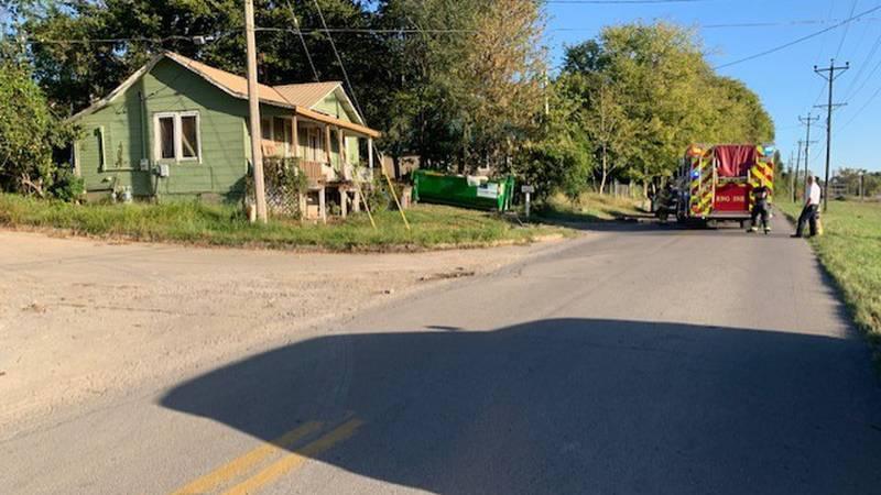 On Sunday, Morning October 17, a house on Giboney Ave was on fire.