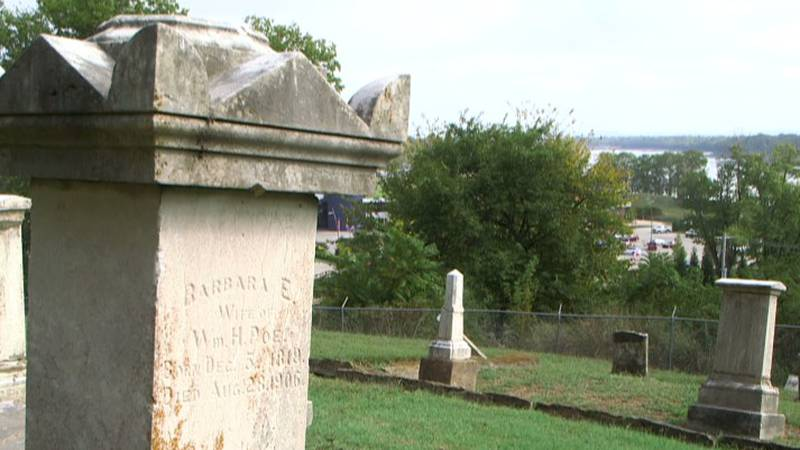 The living history walking tour is tomorrow night at the Old Lorimer Cemetary.