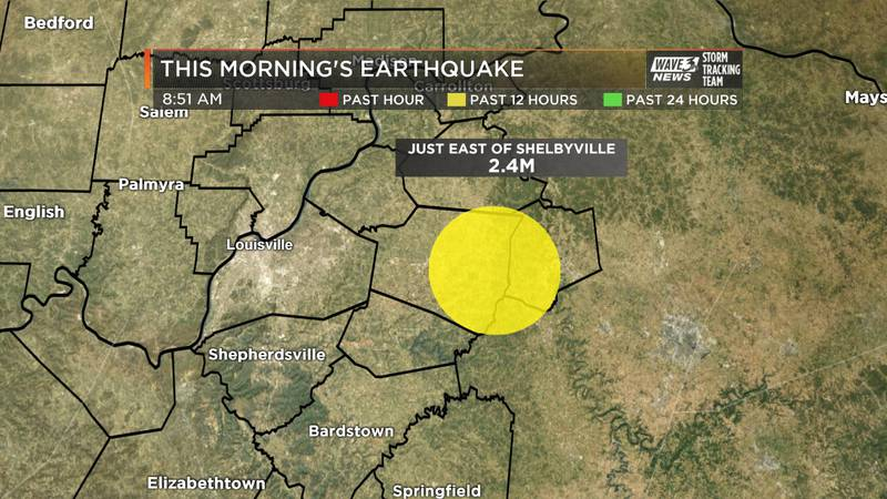 The quake, which registered 2.4 on the Richter Scale, occurred approximately 38 miles east of...