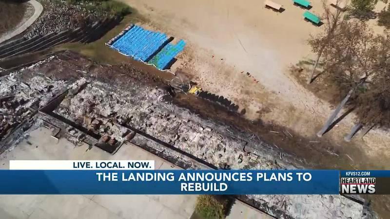 The Landing announces plans to rebuild.