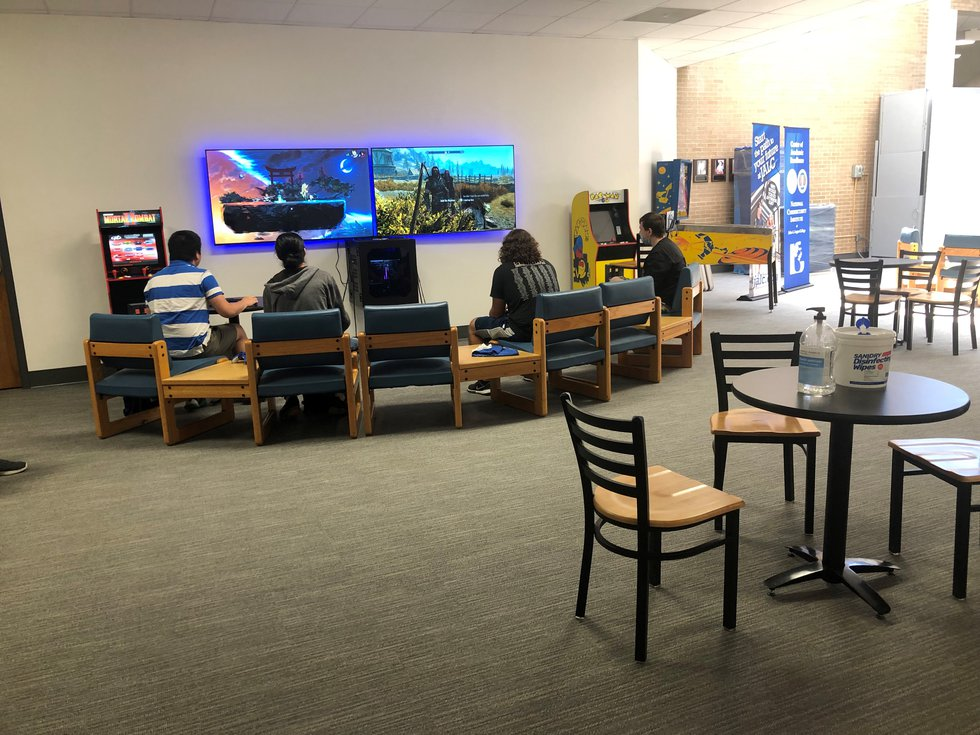 By June, John A. Logan College staff started to move back to refurbished office areas.