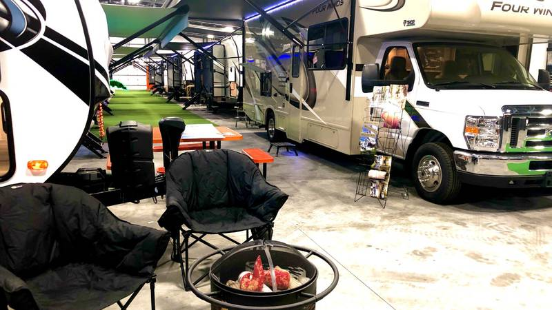 RV Sales up as summer vacation travels is underway