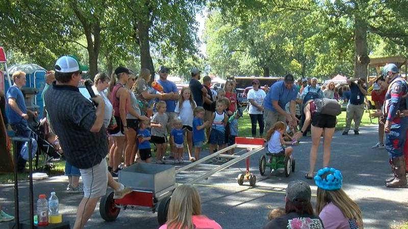 Members of the community come together to celebrate Labor Day in Advance.