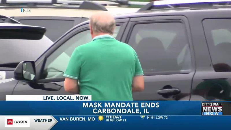 Carbondale ends mask mandate