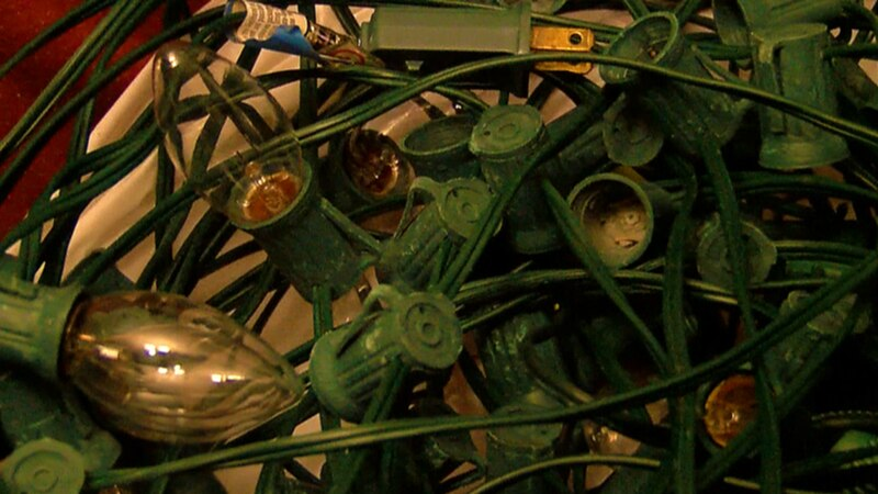 """""""Someone had come and individually unscrewed, I think I counted we have about 100 lightbulbs..."""