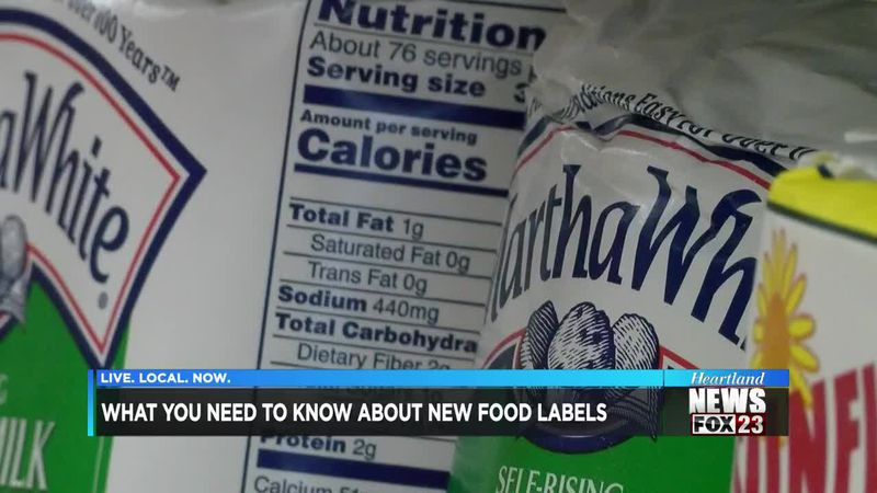 What you need to know about new food labels