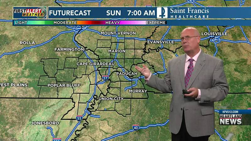 First Alert Forecast at 6 p.m. on 9/24/21