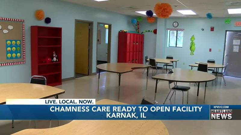 On August 20, at 10 a.m. Chamness Care will have an open house and ribbon cutting.