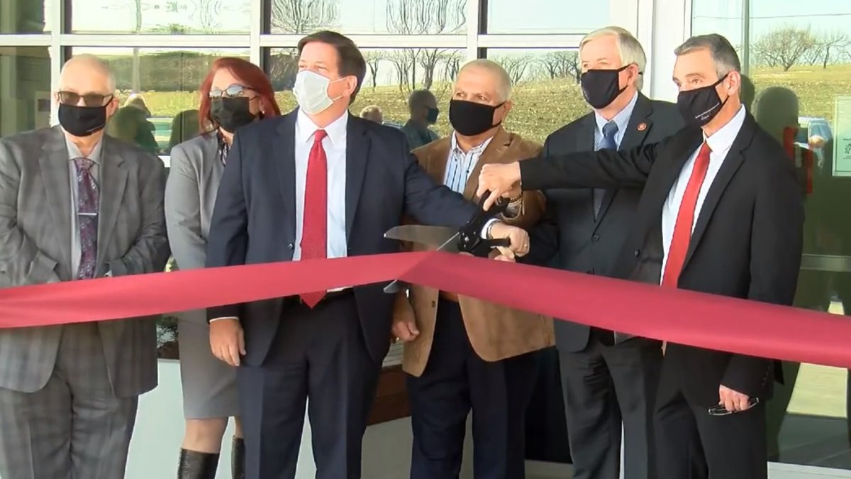 A ribbon-cutting ceremony kicked off the opening of the new Southeast Behavioral Hospital in...