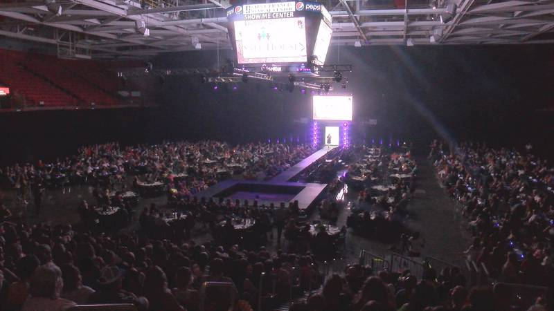 Local models and performers across the Heartland took stage at the Show Me Center in Cape...