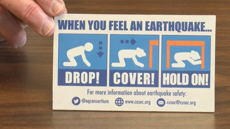 Team prepares for an earthquake in southeast Missouri