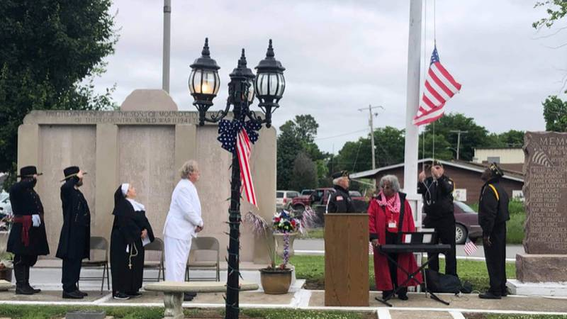 The Mound City National Cemetery Preservation Commission held their annual Memorial Day...