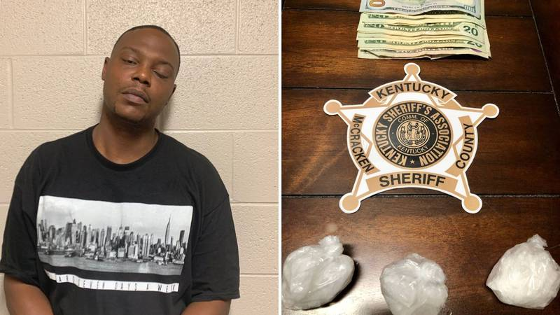Anthony Q. Daniels, 37, of McCracken County was charged with trafficking meth (Source:...