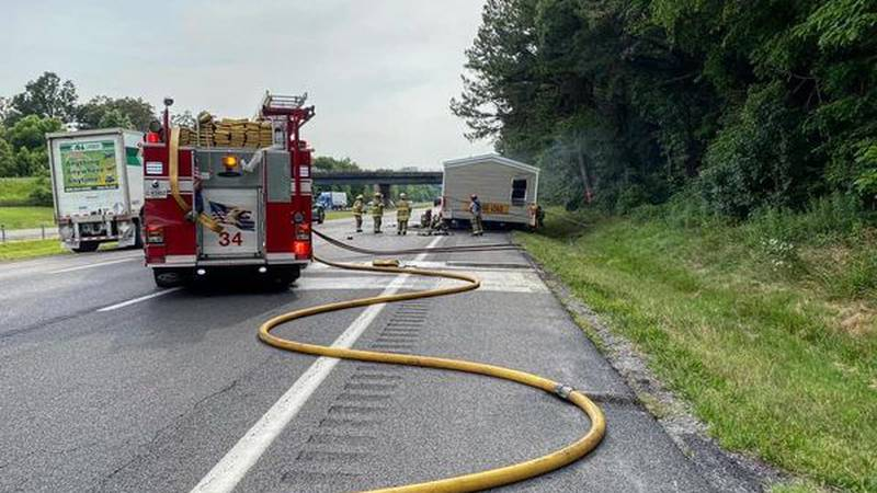 Multiple Crews battled a manufactured home fire on Interstate 24 in McCracken County on...