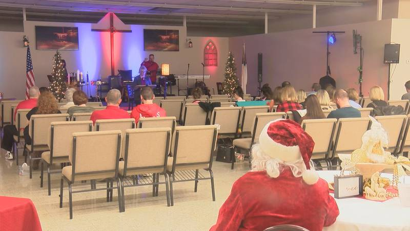 The community is supporting a Scott City congregation's efforts to rebuild after losing their...